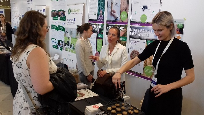 BioBoost stand popular at 2 Seas Mid-Term event