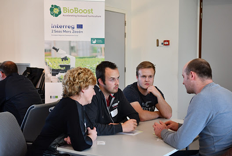 Successful speed date insect stakeholders at Inagro for BioBoost