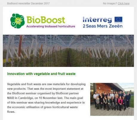 Newsletter Bioboost December 2017