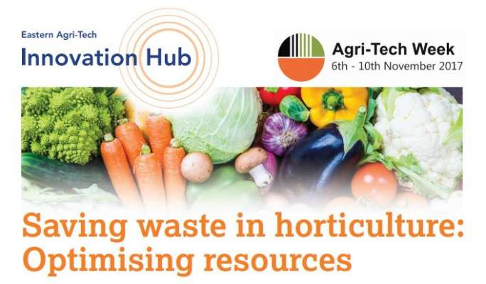10 November: Seminar UK: Saving waste in horticulture: Optimising resources